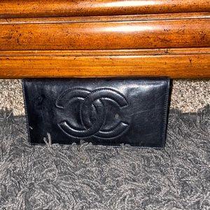 Chanel checkbook cover